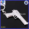en productos minion llaveros pistola al por mayor de autodefensa de armas llave anillo