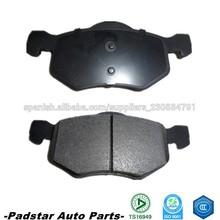 Partes de frenos de coches Mazda 3 piezas de automóviles Ford focus repuestos de China pastillas de freno d843
