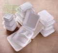 la caña de azúcar / bagazo biodegradable compostable contenedor de alimentos