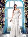 2014 caliente de la venta de gasa vestido de novia 100 bajo
