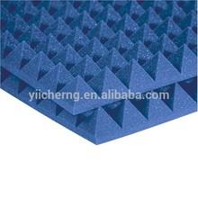 de alta densidad de estudio de insonorización acústica de la espuma 2 pulgadas de espuma de pirámide
