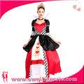 carnaval de largo elegante reina trajes medievales