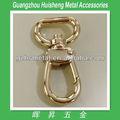 moda bolso de mano de metal de oro la luz complemento gancho