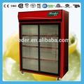 Vitrina vertical/pantalla cooler/bebida frigorífico