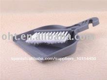 baratos de plástico mini recogedor y cepillo conjunto 501f