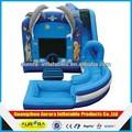 preço de fábrica slide bouncer inflável com piscina barato em vendas