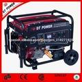7.0 kw hogar automóvil pequeño generador de gasolina
