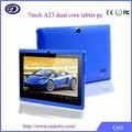 """China wholesale 7"""" driver android tablet pc com a função de telefone"""