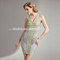 2014 venta caliente sexy barroco alemán de impresión de sublimación de los patrones de vestido
