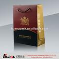 regalo bolsa de papel del fabricante de china