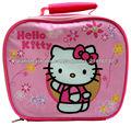 Lonchera Hello Kitty Almuerzo Escuela Bolsa Viaje Ninas Bebes Infantil Comida