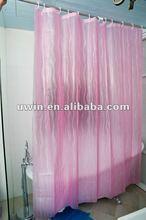 3d eva resistente al agua de baño de color púrpura cortina de la ducha