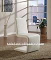 Moderna de metal y una silla de cuero tc-527