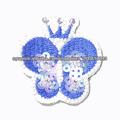 diseño de la mariposa bordadora
