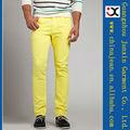 2013 vaqueros color formal de los hombres usan nuevo algodón coloreado pantalones vaqueros (JXC30832)