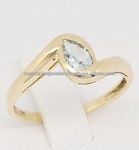 de oro anillos de la joyería