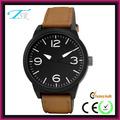 Venta directa de cuarzo reloj deportivo de cuero genuino reloj fábrica de China