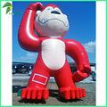 Mono inflable de los animales de la promoción del aire lindo de Gaint