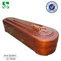Convencionais de qualidade de madeira caixões funerários altos sólidos