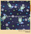 el búho impresa tela de algodón en color azul marino para los hombres jóvenes