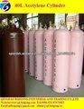 40L cilindro de acetileno disuelto