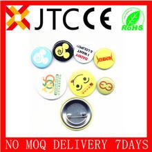 Jtc de promoción no moq fábrica de la venta baratos personalizados pins everton roundb sol normal perno de la solapa insignia de