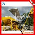 china fabricación hzs25 concretas de las plantas de procesamiento por lotes con precio de silos