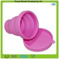 Venta de la fábrica directamente de silicona de medición / vasos para beber