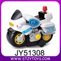 Jouet pour enfant moto plastique dessin animé électrique moto de police