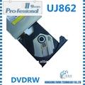 100% original unidade óptica gravador de dvd ide uj862