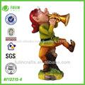 venta al por mayor de la artesanía del polyresin gnome películas de dibujos animados