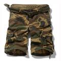2014 moda novo estilo exército imprimir atacado camo mens shorts