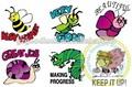 Personalizado carimbos dos desenhos animados para o professor/personalizado carimbos de professor