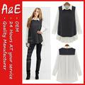 moda ae diferentes tipos de diseños de blusa