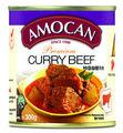 amocan conservas de curry de carne de vacuno