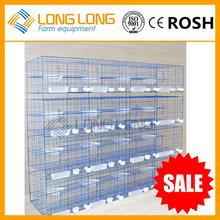 jaula del pollo de codorniz de pollo jaula jaula para la venta paloma jaula de cría