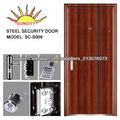diseño de la puerta de acero de la seguridad en zhejiang