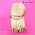venta al por mayor remy brasileño enreda diversos palo extensiones de cabello de color humano libre
