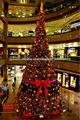 decoración del árbol de navidad gigante