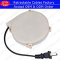 de una manera carretes hervidor eléctrico retráctil de cable de ca cable de alimentación 110v a 250 v