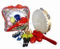instrumento musical de los niños del tambor conjuntos