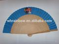 español de madera de mano del ventilador