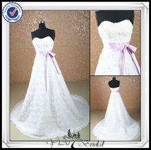 jj0076 bola vestido de tecido flor vestidos de casamento por atacado