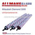 impressão offset máquina de rolo de borracha para mitsubishi diamante 3000