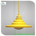moderno colgante de bolas de plástico de la luz de la lámpara colgante