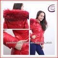 Las mujeres YuRongFu 2014 de alta calidad a bajo precio actualizada de abrigo