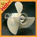 aluminio pequeña 3 hoja de marina de la hélice