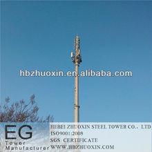 hebei zhuoxin de telecomunicaciones de acero galvanizado gsm torre de celosía