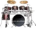 Sn-7002 alta calidad 7-pc drum set, instrumento de percusión
