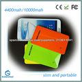 shenzhen 4400mah emergencia cargador móvil del usb